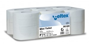 MINI TOILET papier toaletowy CELTEX  w rolce JUMBO MINI